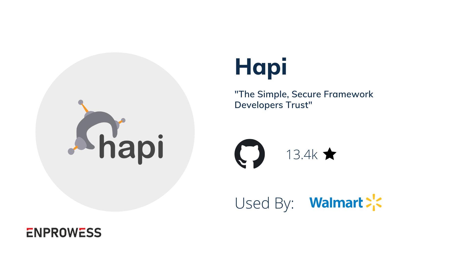 HapiJS details