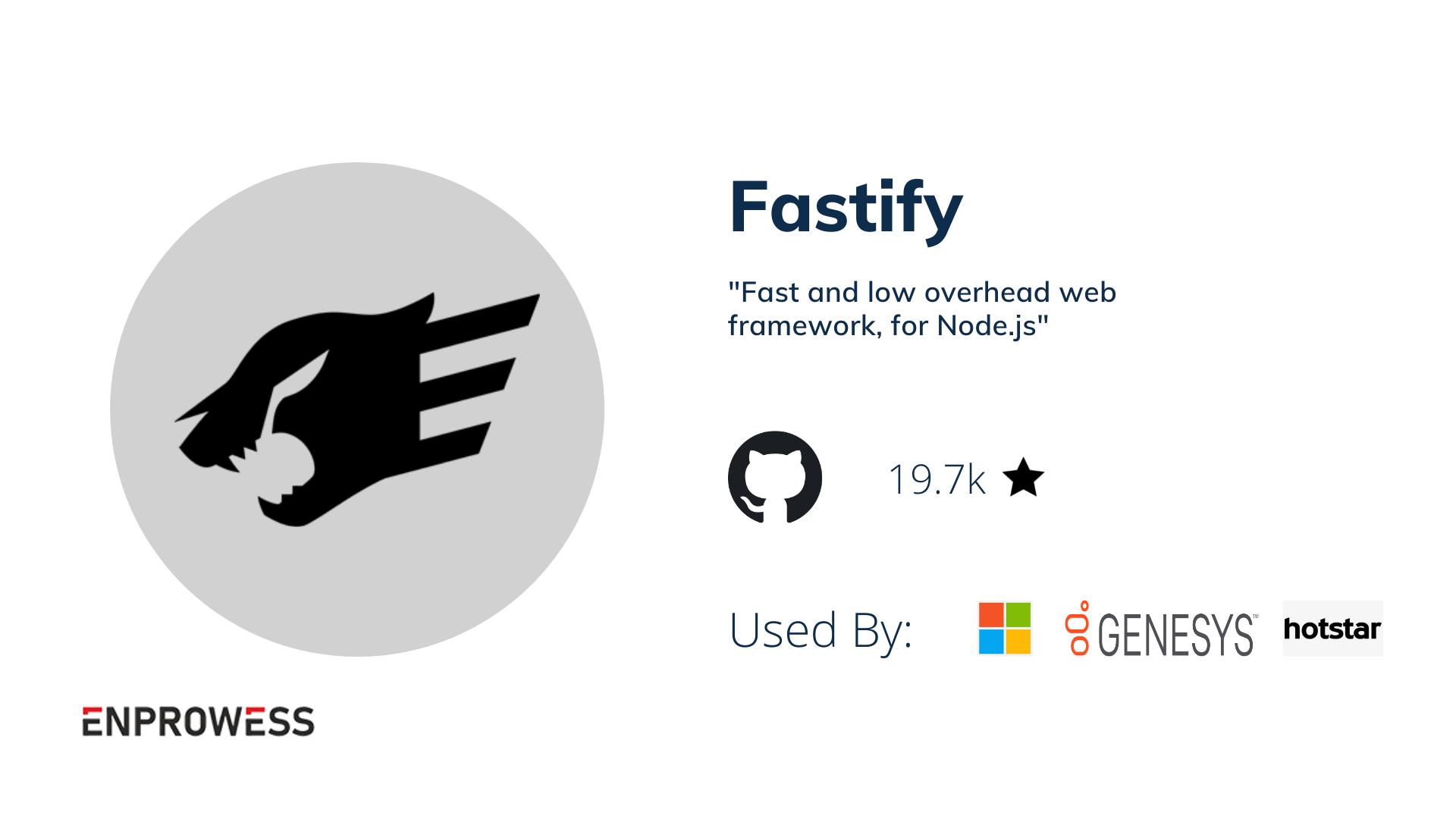 Fastify Details