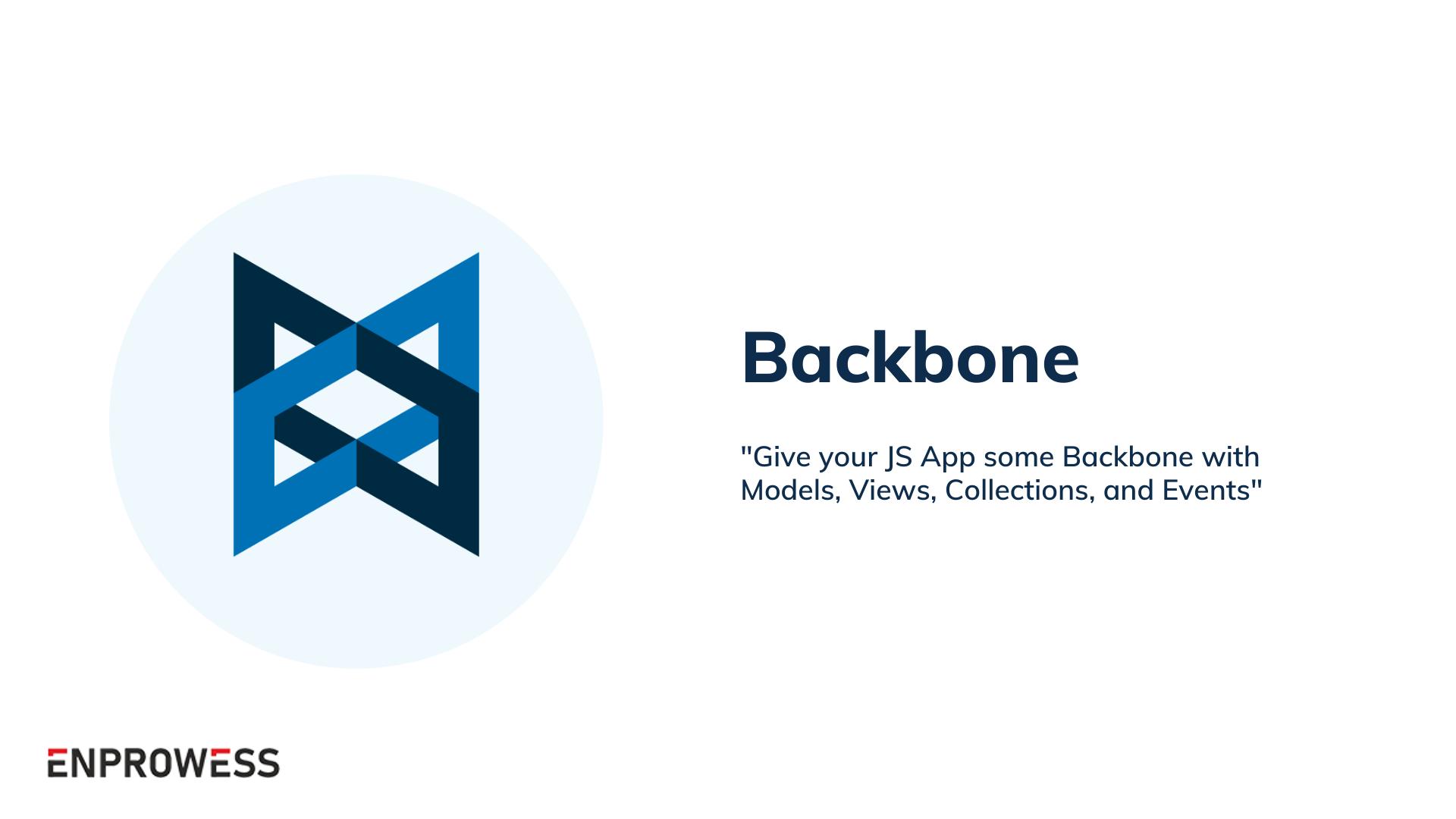 Top Frontend Frameworks - Backbone
