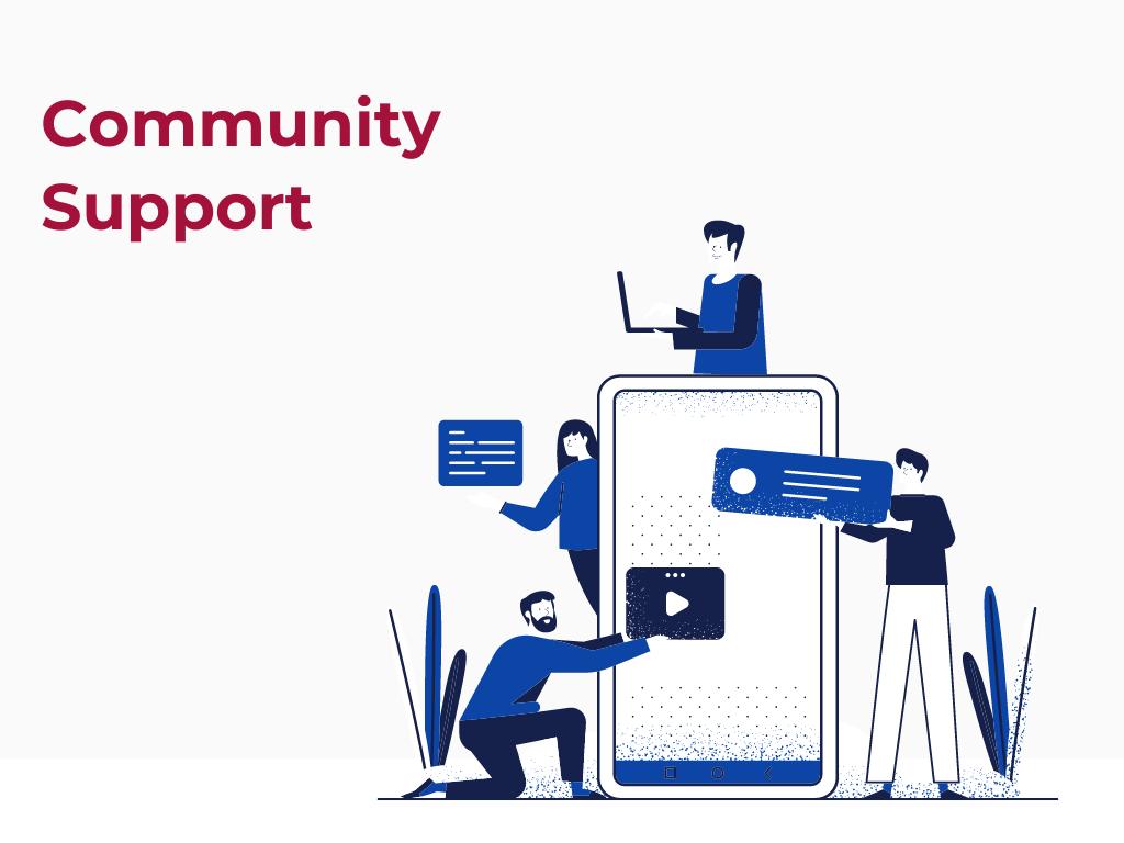 Community support Nodejs and Java