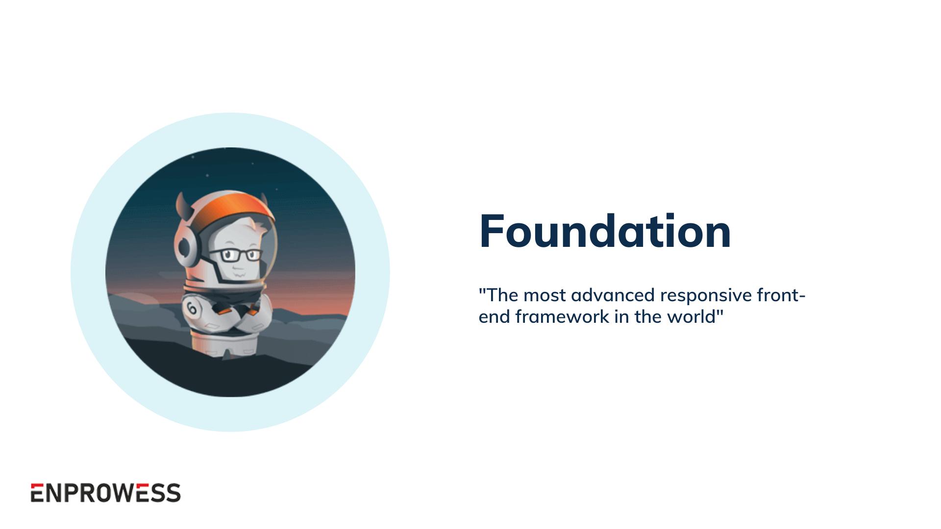 Top Frontend Frameworks - Foundation