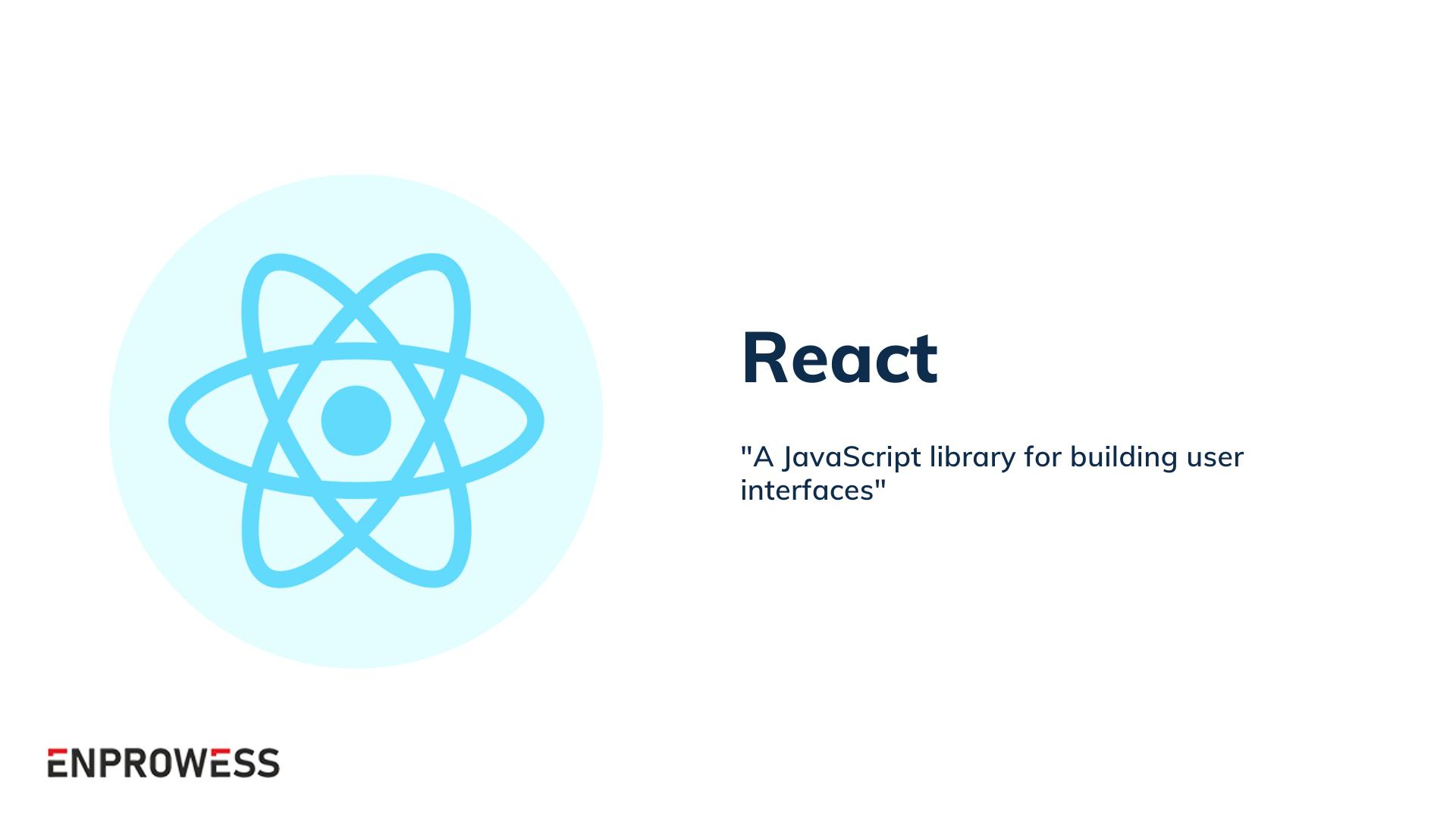 Top Frontend Frameworks - React