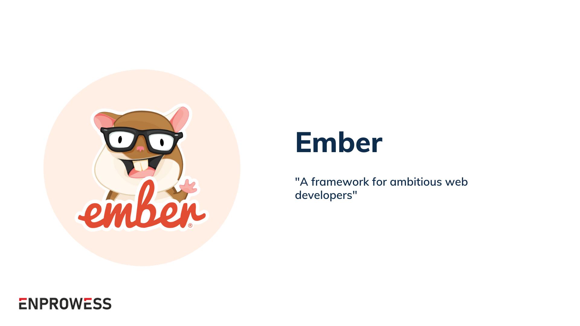 Top Frontend Frameworks - Ember