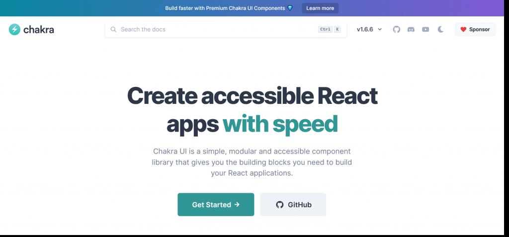 React Libraries- Chakra UI