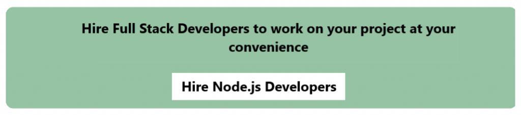 Hire Node Developers