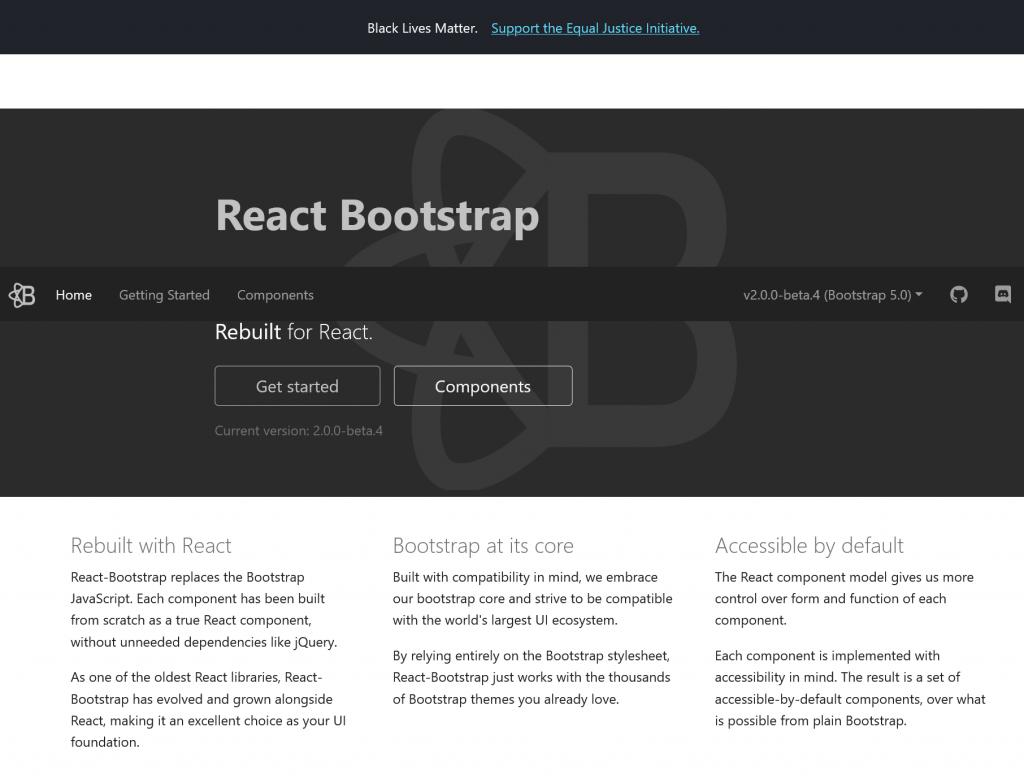 React-Bootstrap