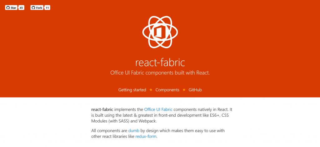 React Fabric