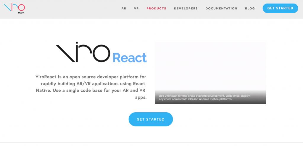 ViroReact — Viro Media