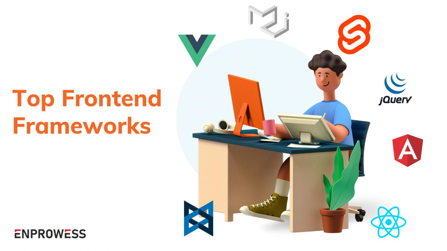 Top Frontend Frameworks - Cover Image